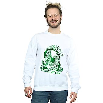 Harry Potter Men's Slytherin Snake Sweatshirt