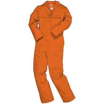 Portwest Mens Bizweld Flamme Retardent Workwear insgesamt Boilersuit Coverall