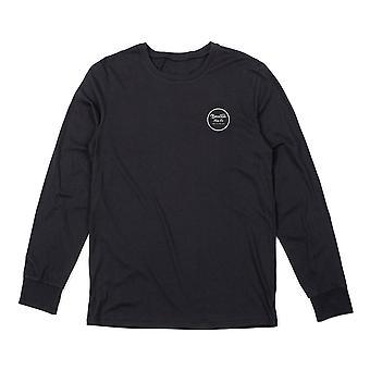 Brixton Wheeler Long Sleeve T-Shirt Black