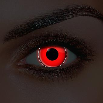 i-Glow Red Contact Lenses (Pair)