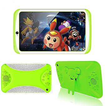 Android Tablet Computer  Green– For Kids,7 Inch Display, HD Visuals, 3000mAh Battery, Sophisticated Hardware, WiFi
