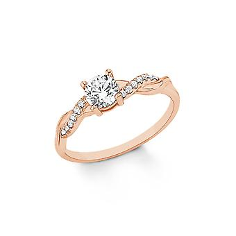 s.Oliver jewel ladies ring silver Rosé Zirkonia 202100