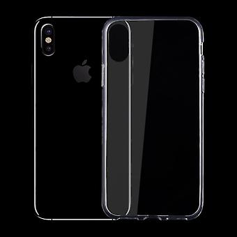 Silikoncase TPU transparent 0.3 mm ultra thin case for Apple iPhone XS / X 10 5.8 inch bag