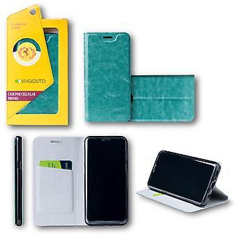 Flip / Smart Cover Blau für Huawei Honor 9 Lite Schutzhülle Cover Etui Tasche Hülle Neu Case