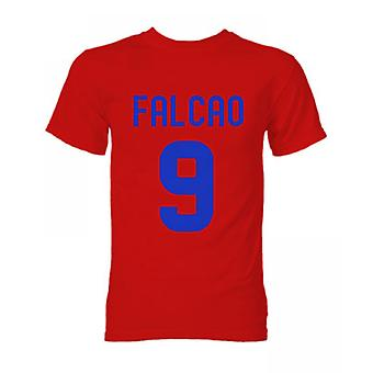 Falcao Atletico Madrid Hero T-Shirt (Red)