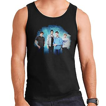 Kasabian Band Portrait Opener Festival Poland 2010 Men's Vest
