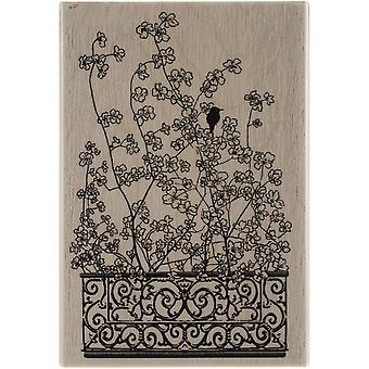 Penny Black Mounted Rubber Stamp 3.5
