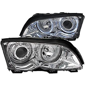 Anzo USA 121212 BMW Chrome Clear Projector With Headlight Assembly - (Sold in Pairs)