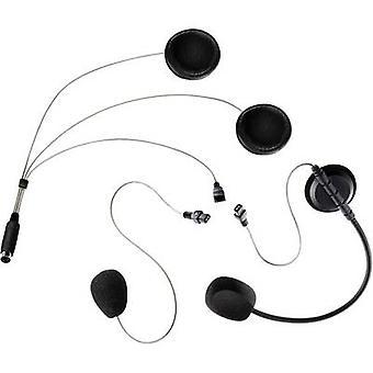 Headset with microphone Albrecht COHS Universal-Headset 41932 Suitable for Full-face helmet, Jet helmet
