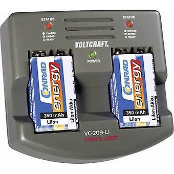 9V battery charger Li-ion VOLTCRAFT VC209-Li 9V PP3