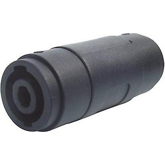 Paccs Speakon Adapter [1x Speakon socket - 1x Speakon socket] Noir