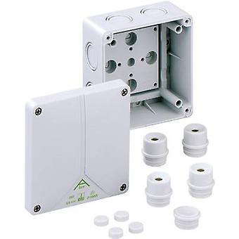 Joint box (L x W x H) 110 x 110 x 67 mm Spelsberg 80690701 Grey