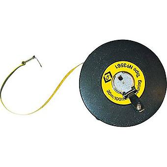 Tape measure 30 m Plastic C.K.
