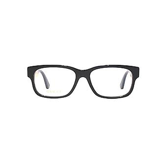Gucci GG0343O Glasses In Black Yellow Stripe