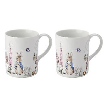 Stow Green Classic Peter Rabbit Set of 2 Mugs