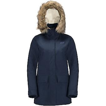 Jack Wolfskin Womens/Ladies Helsinki Faux Fur Hood Waterproof Coat