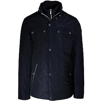 Lagerfeld Lagerfeld Navy Blue Quilted Jacket