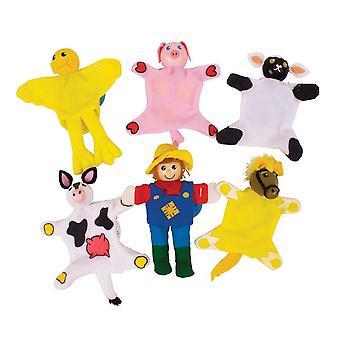 Bigjigs Toys Farm Fingerpuppen