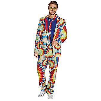 Hippy suit mens costume suit hippy batik Carnival