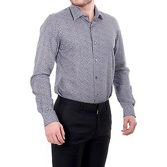 Paul Smith Tailored Fit Ls Shirt With Allover Floral Print