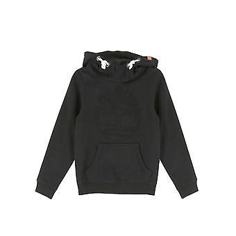 Timberland Boys Timberland Kids Black Hooded Sweatshirt