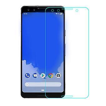 Google Pixel 3 Hartglas Displayschutzfolie Retail-Verpackung