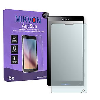 Sony Odin Gina Screen Protector - Mikvon AntiSun (Retail Package with accessories)