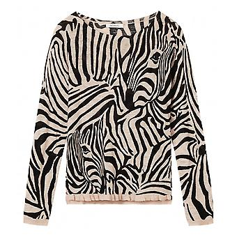 Sandwich Ladies Zebra Print Sweater - 21001464
