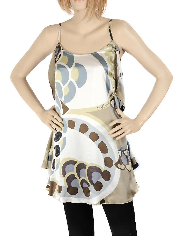 Waooh - Fashion - Small beige silk dress fashion design