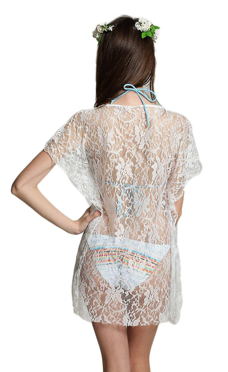 Waooh - Fashion - Dress lace transparent beach