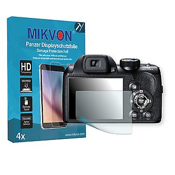 Fujifilm FinePix S4500 Screen Protector - Mikvon Armor Screen Protector (Retail Package with accessories)