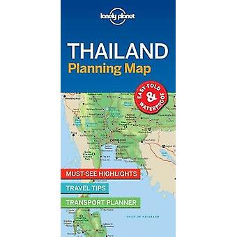 Lonely Planet Thailand Planning Map by Lonely Planet Thailand Plannin