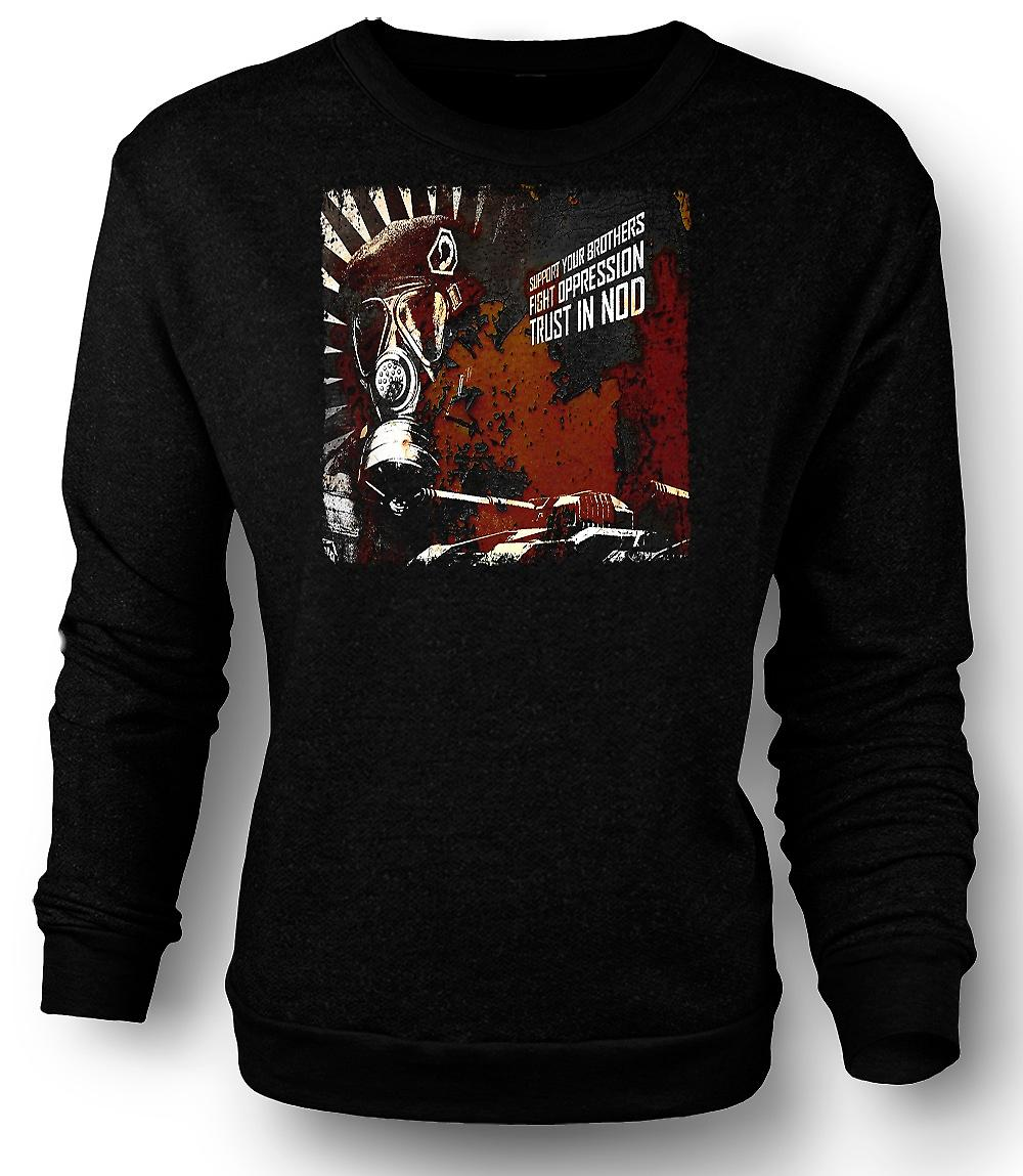 Mens Sweatshirt Command & Conquer - Trust Nod - Gamer