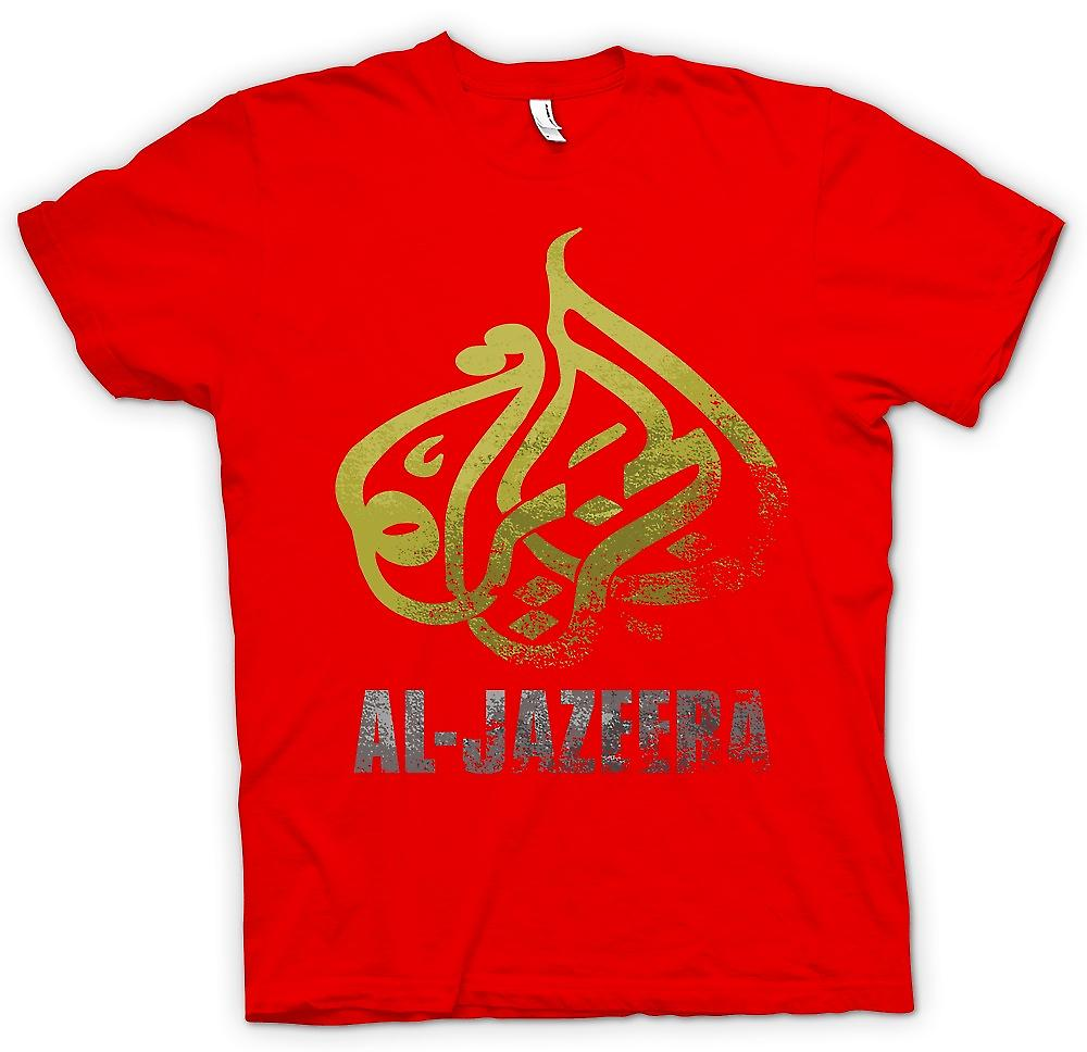 Mens t-shirt - Al Jazeera - notizie Real Alternative