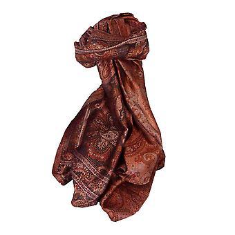 Jamawar Premium Silk Stole Pattern 3712 by Pashmina & Silk