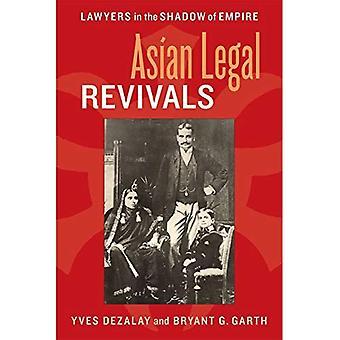 Asiatiske juridiske vekkelser: Advokater i skyggen av riket (Chicago serien i jus og samfunnet)