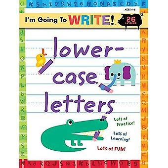 Kleine Letters (I 'm gonna schrijven werkmap)