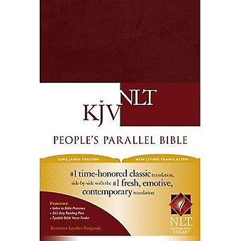 Volkspartei Parallel-Bibel KJV/NLTse Kunstleder Burgund