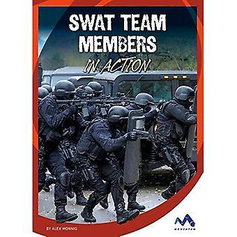 Swat Team Members in Action (Dangerous Jobs in Action)