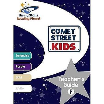 Planète lecture - enfants de la rue comète