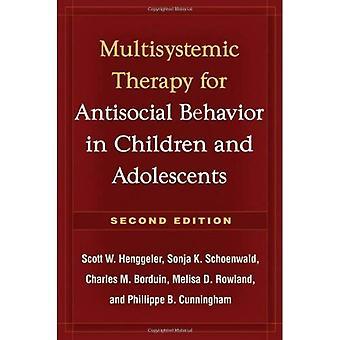 Multisystemisk terapi för antisocialt beteende hos barn och ungdomar (behandling manualer för utövare)