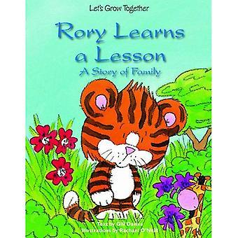 Rory lär sig en läxa: en berättelse om familj