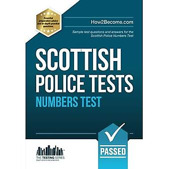 SCOTTISH Police NUMBERS Tests 2016 version: Standard Entrance Test (SET) sample test questions and answers for...
