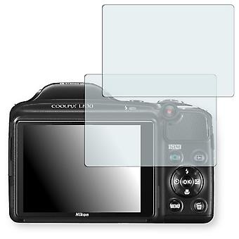 Nikon COOLPIX L830 display protector - Golebo crystal clear protection film