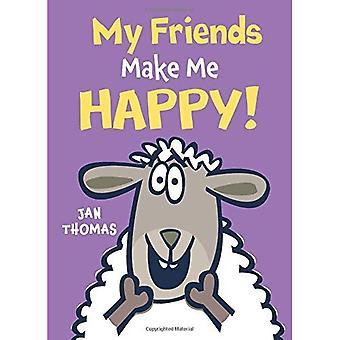 Mes amis Me rendent heureuse!
