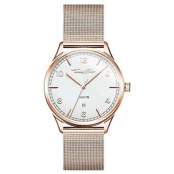 Thomas Sabo | Stainless Steel Rose Gold Bracelet | White Dial | WA0341-265-202-40