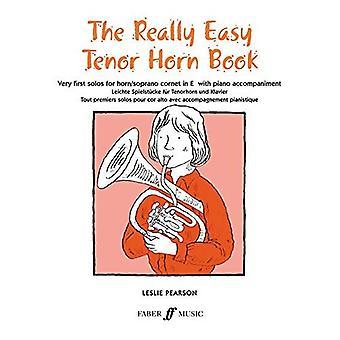 Verkligen lätt Tenor Horn bok: (med Piano)