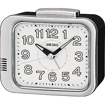 Seiko analogue watch unisex QHK028S plastic white