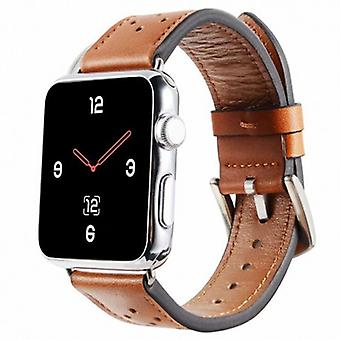 Apple Watch 4 (40 mm) Leather Bracelet Plum-Brown