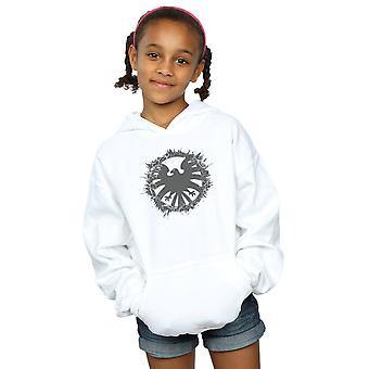 Marvel Girls Agents of S.H.I.E.L.D. Brushed Logo Hoodie